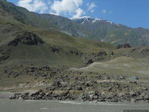 Вид на афганский берег