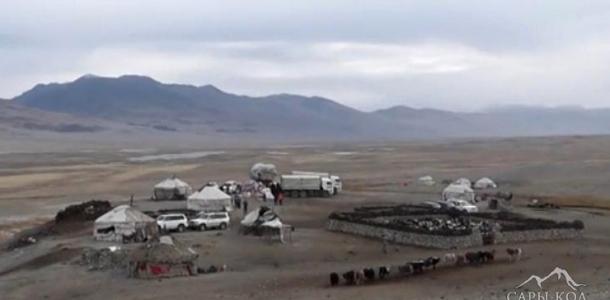 Шамал улуган тоодогу кыргыздар (видео)