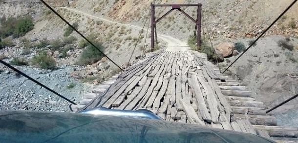 Плохое состояние мостов в ГБАО мешает созданию безопасных туристических маршрутов